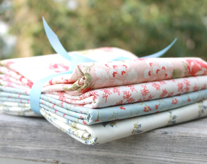 Victoria by 3 Sisters for Moda ~ 4 Half Yard Bundle Floral