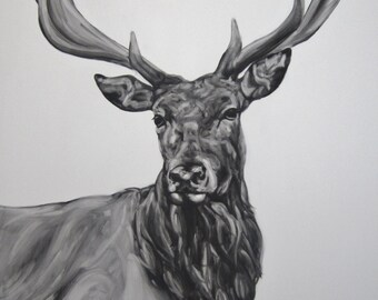Emperor( Stag ) Animal Wildlife Art Print