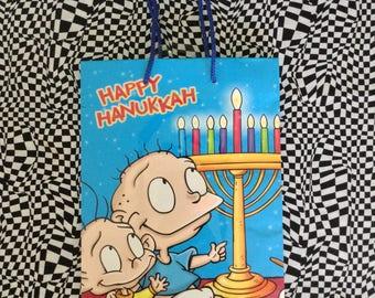 Happy Rugrats~Happy Hanukkah~Rugrats~Hanukkah~Gift Bag~American Greetings~L'Chayim To Life~Nickelodeon