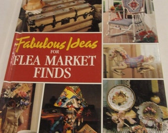Flea Market Finds, Fabulous Ideas for Flea Market finds, How to make Crafts book, Country Crafts, Cottage Chic, Crafts, Gift for the Crafter