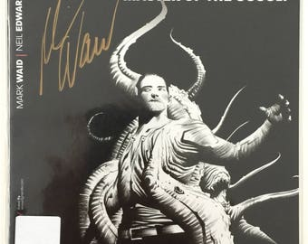 Doctor Spektor: Master Of The Occult #1 - Jae Lee Limited Edition Black & White Signature by Mark Waid - COA - Dynamite Comics Free shipping
