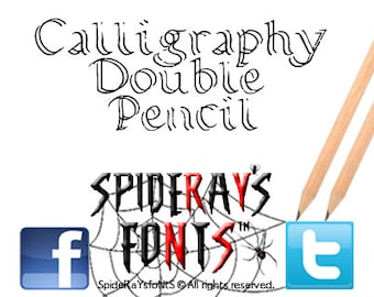 CALLIGRAPHY PENCIL Commercial Font