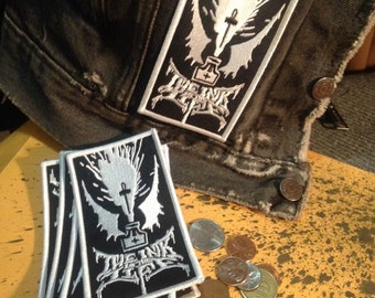 ENKSPLOSION PATCH metal logo embroided iron on patch
