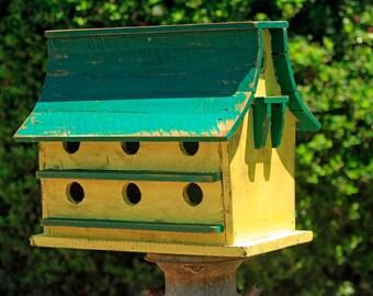 Purple Martin bird house, large bird house, functional bird house, rustic bird house, barn bird house,Large Bird House, Bird House