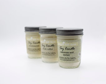 Soy Wax Scented Candles - Summer