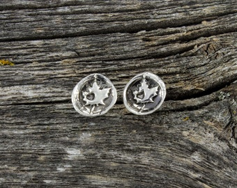 Oh Canada Roots Stud Earrings
