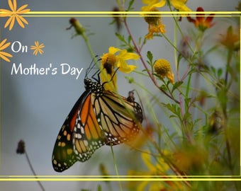 Greeting Card: On Mother's Day