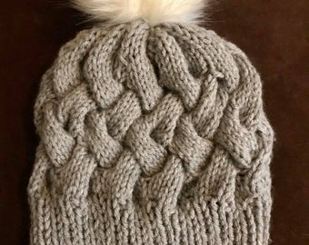 Basket Weave Slouchy FINISHED PRODUCT