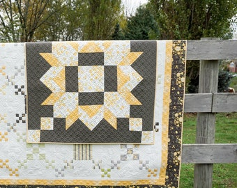 Barn Star PAPER Quilt Pattern #127