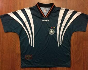 Vintage 96/98 Germany Away Kit Jersey Size XL