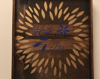 Have Joy salvaged wood sign