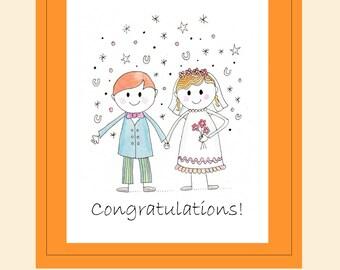Congratulations Card -(Style B)