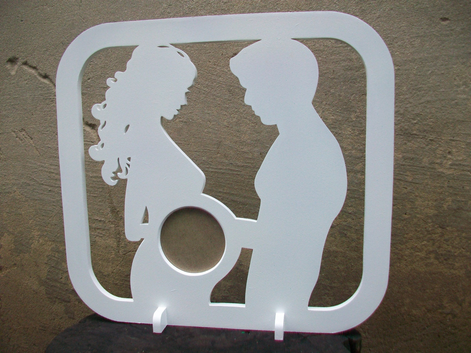 First photo ultrasound sonogram wood picture frame silhouette baby sold by mynicewood jeuxipadfo Image collections