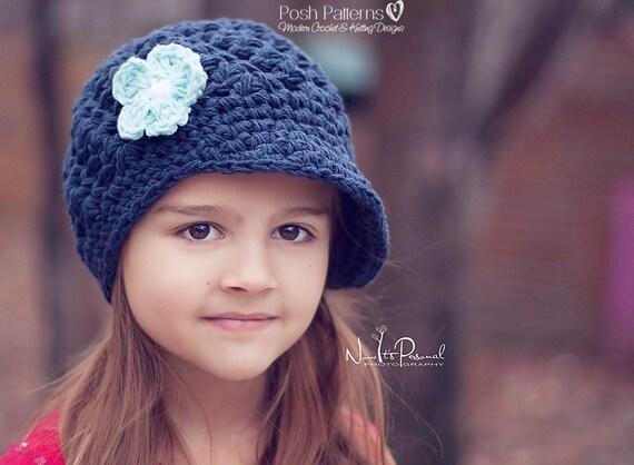 Crochet Newsboy Hat Pattern Crochet Pattern Crochet Hat