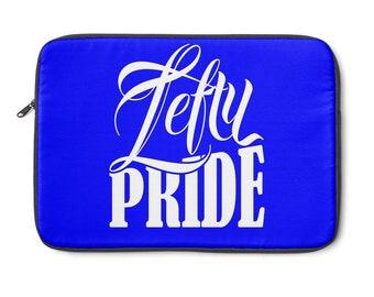 Lefty Pride Laptop Sleeve  Blue