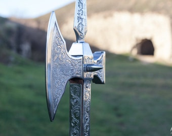 "Decorative Halberd ""Knight of Fortune"""