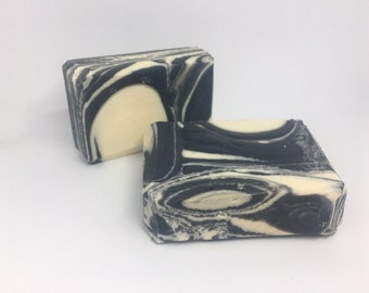 Jasmine Tea Activated Charcoal Cold Process Soap