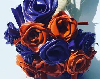 Purple #2 and Orange Bouquet