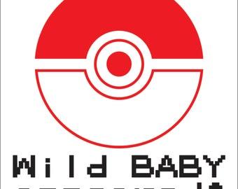 Customizable Pokemon Baby Onesie