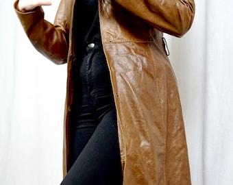 Wilsons Brown Leather Coat