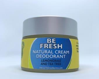 Be Fresh - Natural Cream Deodorant