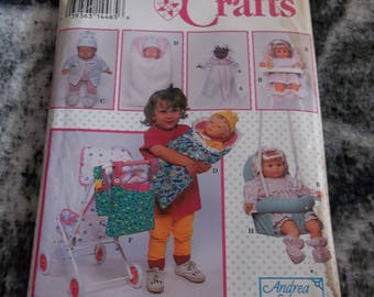 Vintage 1993 Simplicity Crafts by Andrea Schewe pattern #0683 size A Uncut