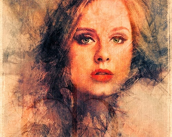 Adele - Limited Edition Giclee Print 16 x 20