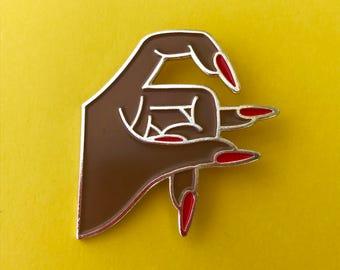 SF nail pin (brown)
