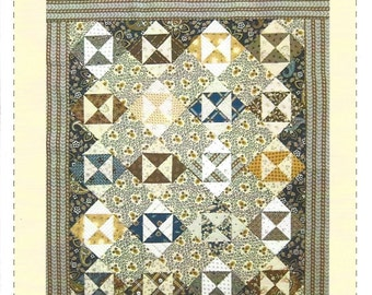 Jo Morton - Broken Dishes - Quilt Pattern