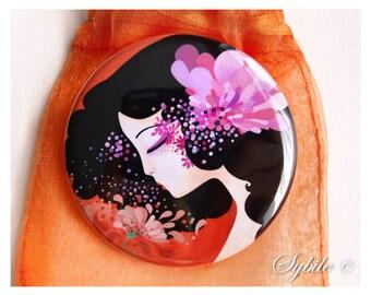 Miroir de poche Parfum