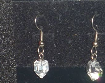 Herkimer diamond earings