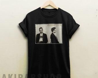 Johnny cash shirt , musical t shirt , men in black tee , ring of fire tshirt , the legend t-shirt , vintage tee , retro shirt 093