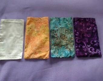 Yoga/Meditation Eye Pillow, Lavender Petals