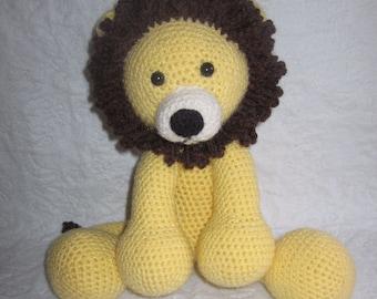 The Adorable Lion Crochet Pattern