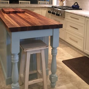 Reclaimed /wood/ Bar Stool/ Counter/ Bar/ Stool/ White/ Distressed