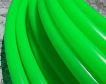 "Pre-made: 37"" Diameter, 3/4"" Tubing UV Gratitude Green Colored Polypro Hula Hoop"