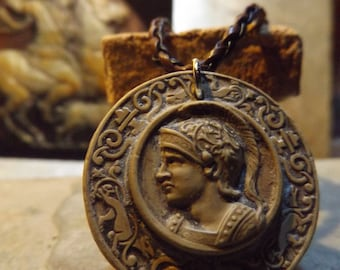 Alexander the Great - A necklace of the Macedonian king. Ancient Greece