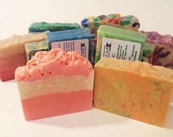Soap Sale - Clearance Sale  - Artisan Soap - Gifts for Her - Homemade Soap - Bath and Body - Variety Pack Soap - Soap Clearance - Soap Bulk