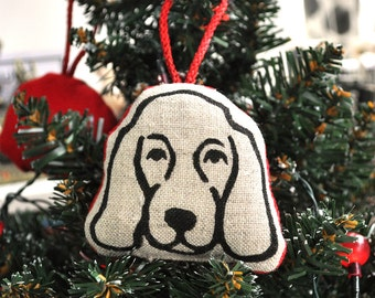Spaniel Christmas Decoration