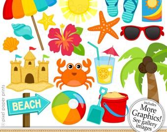 beach clip art etsy rh etsy com beach clipart free beach clipart pictures