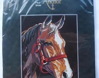 KIT complete needlepoint - ref.9886107 horse head