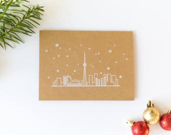 CN Tower Holiday Card