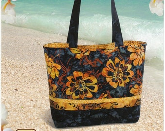 Tuscany Tote Pattern By Pink Sand Beach Designs - Purse Tote Bage Pattern