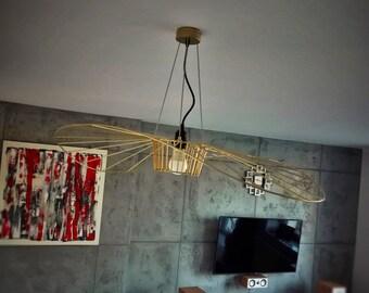 Unique pendant lamp!! HANDMADE