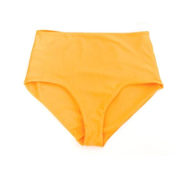 5ca2592eb35d8 HIGH TIDE High Waisted Bikini Bottom Made to Order    Fuller
