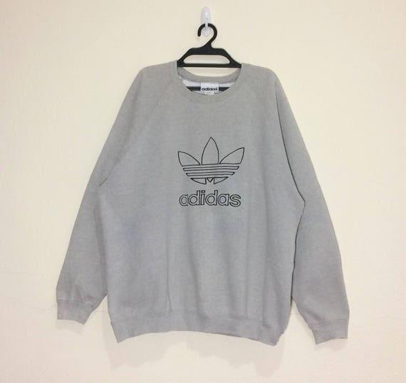 Vintage!! Rare 80's new york multicolor Embroidery Spells Out Big Logo Sweatshirt/hoodies 5QWfDW8