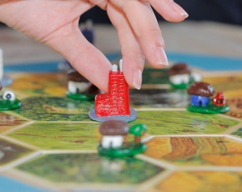 SALE! Settlements and Cities for Settlers of Catan