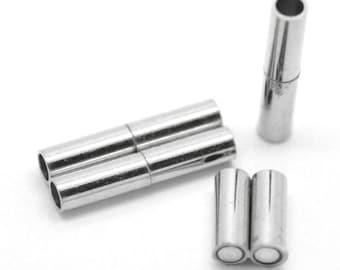 Magnetic Barrel Clasps - 18 x 3 mm | 0227