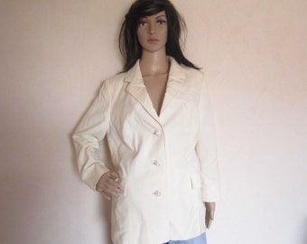 Vintage 60s haute couture Germany blazer Jacket