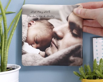 First Father's Day Photograph Ceramic Print - First Father's Day Gift - First Father's Day Print - Print For Daddy - Daddy And I Print
